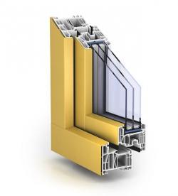 plastové okno PROFITLINE Aluclip